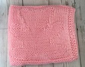 Pink-Teddy-Baby blanket-H...