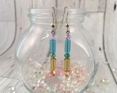 Rainbow Dangle Earrings...