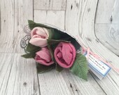 Rose Baby Sock Bouquet - ...