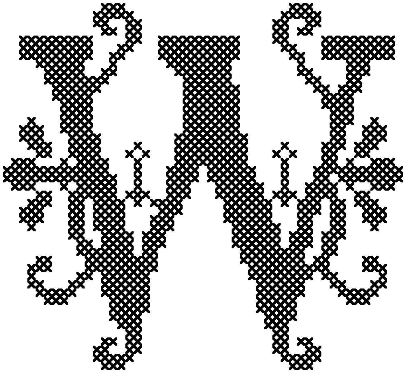 Cross Template Printable Large