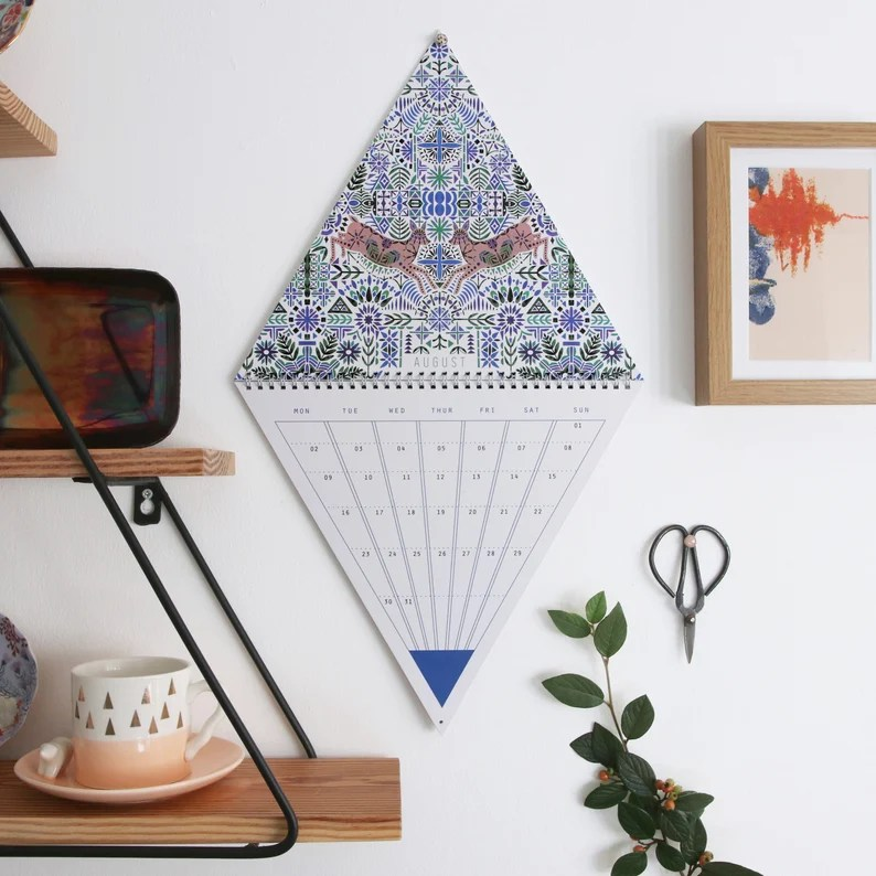 2021 Triangle Wall Calendar image 2