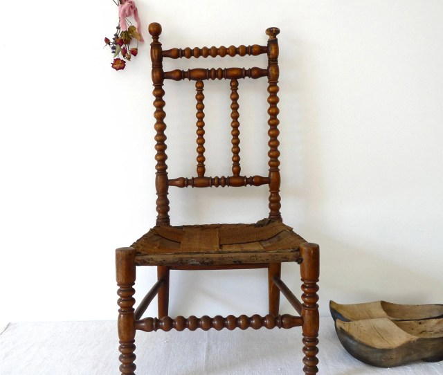 On Sale  Rare French Antique Child Chair French Antique Furniture French Wood France Antique Chair