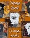 Fall Mockup Bundle Bella Canvas Mockup Bundle T Shirt Fall Etsy