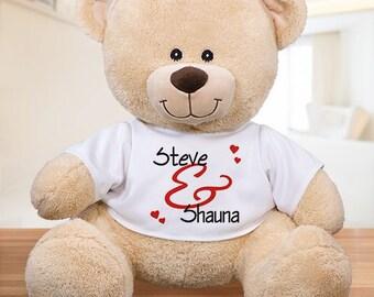 Valentine Teddy Bear Etsy