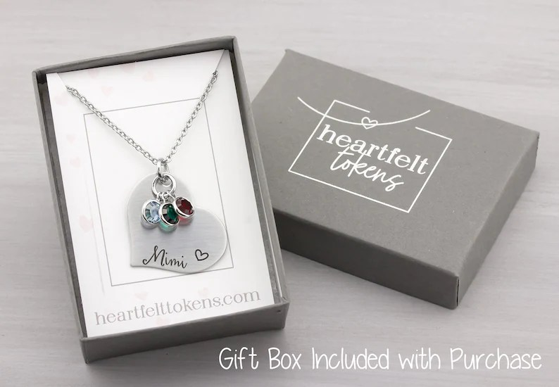 Personalized Jewelry for Mom  Personalized Birthstone image 2