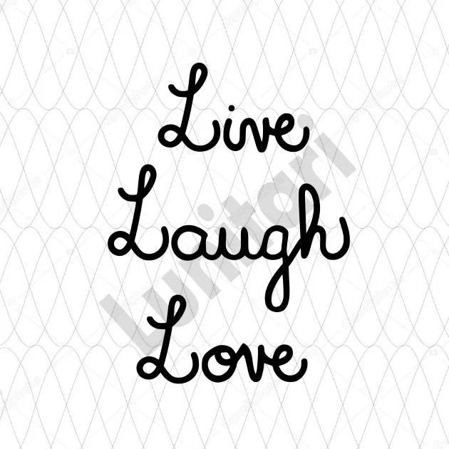 Download Live Laugh Love SVG digital download/cut files/digital cut ...