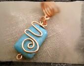 Turquoise Copper Loc Jewe...
