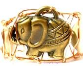 Safari Cuff Bracelet//Ele...