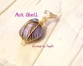 Gray Ark Shell Loc Jewelr...