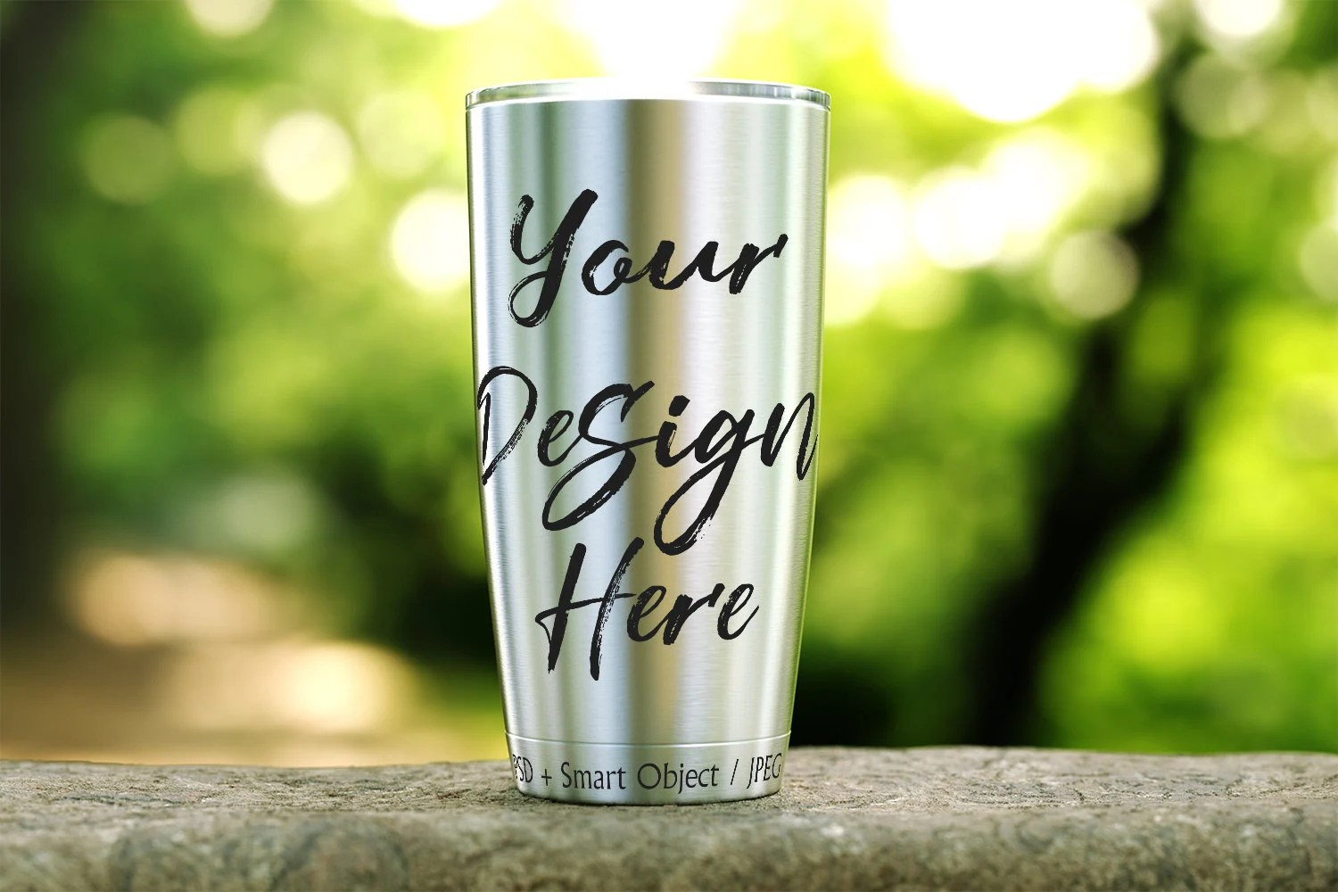 Subscribe to envato elements for unlimited graphic templates downloads for a single monthly fee. Steel Tumbler Mockup Tumbler Template 20oz Travel Flask Etsy