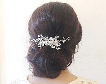 bridal hair comb wedding hair comb bridal hair clip wedding hair clip wedding hair piece bridal hair piece bridal hair accessories hair vine