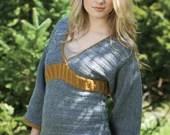 Aurora Kimono - Women's Sweater - PATTERN ONLY - Knit Pattern - Knitting - Jumper - Shirt - Top - Knit