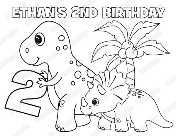 trex coloring page # 49