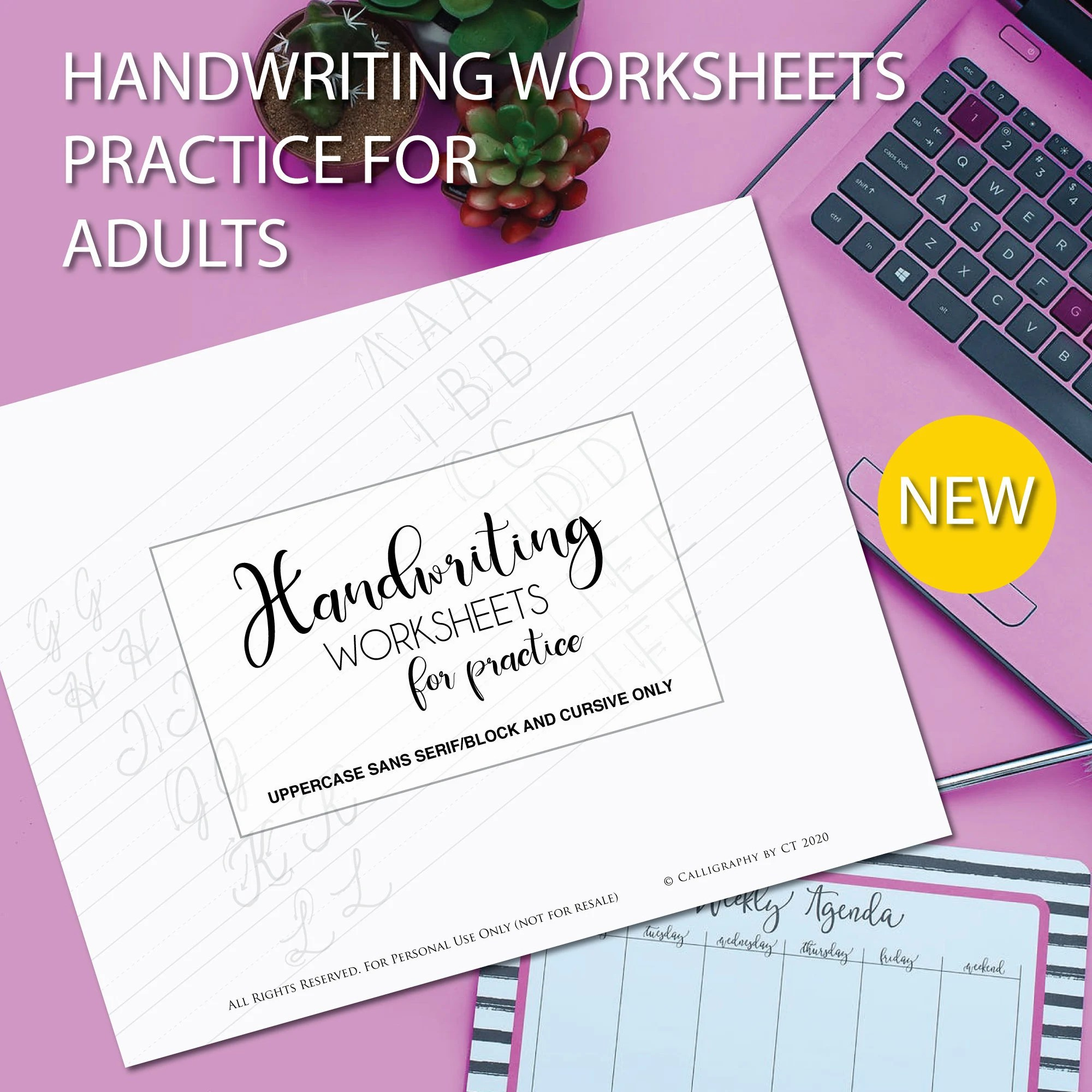 Handwriting Worksheets Practice Sheets Instant