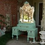 Makeup Vanity Custom Order An Antique Dresser Shabby Chic Painted Distressed Restored Bedroom Furniture Breathtaking