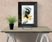 Printable abstract wall a...
