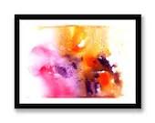 Orange and Purple waterco...
