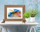 Abstract seascape paintin...