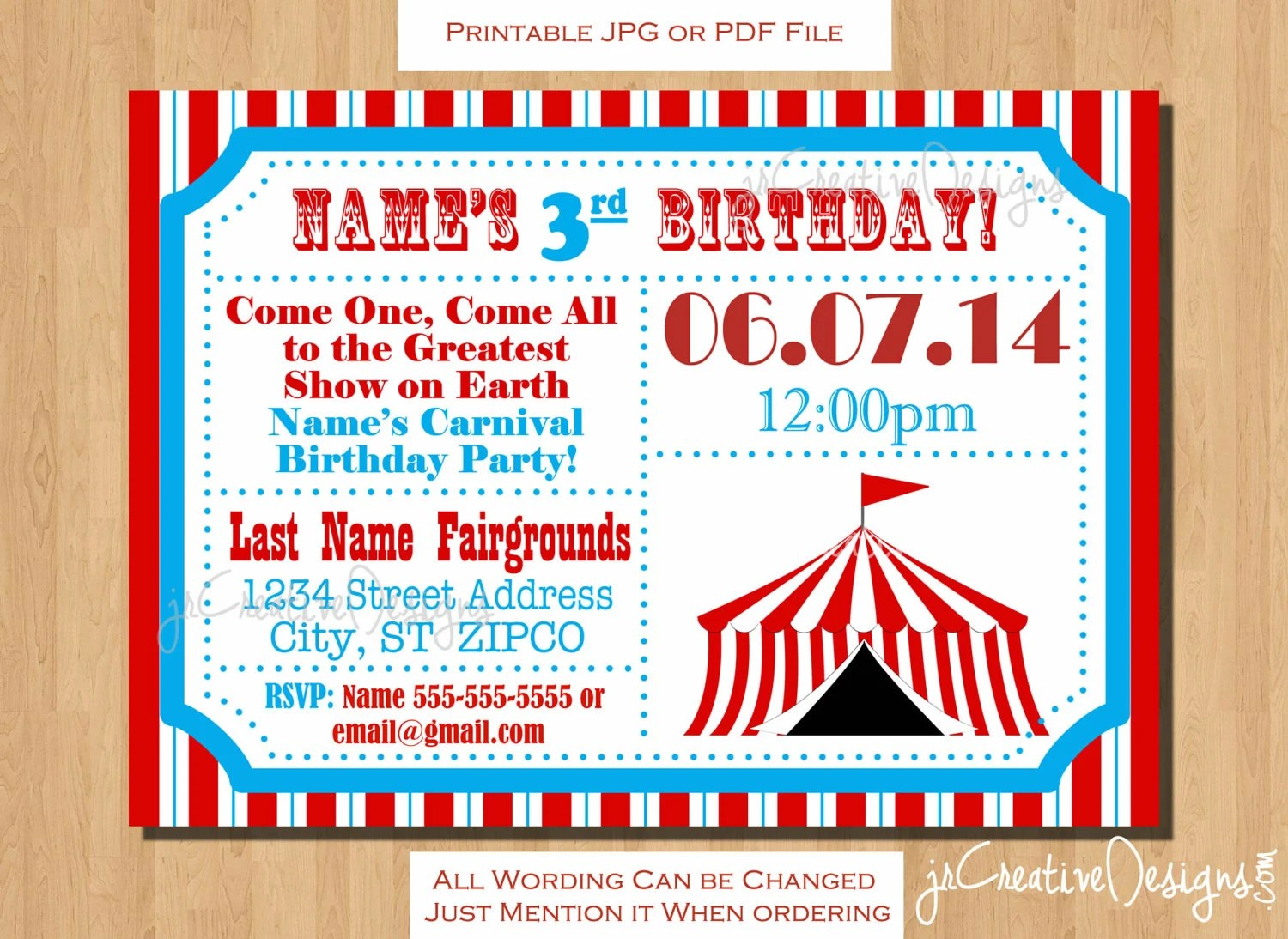 circus themed party circus birthday