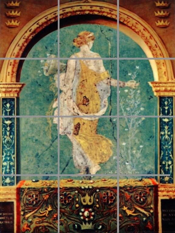 murale artistique ceramique decorative fresque grecque antique
