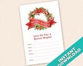 Downloadable Christmas Bu...