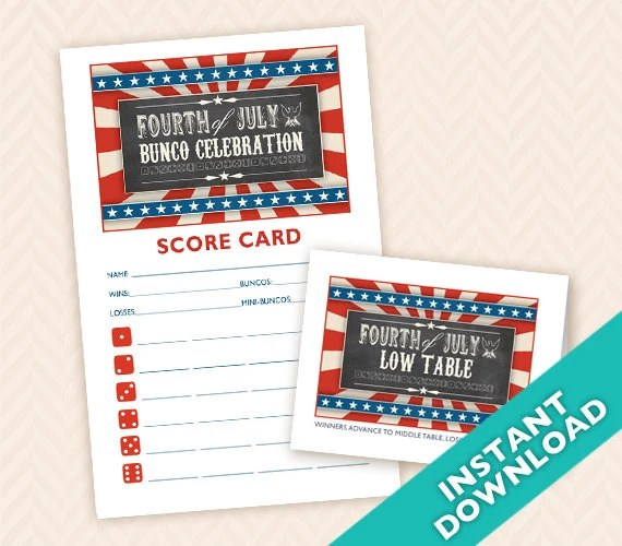 Fourth of July Printable ...