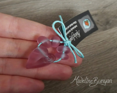 Heart with Mini Glass Peb...