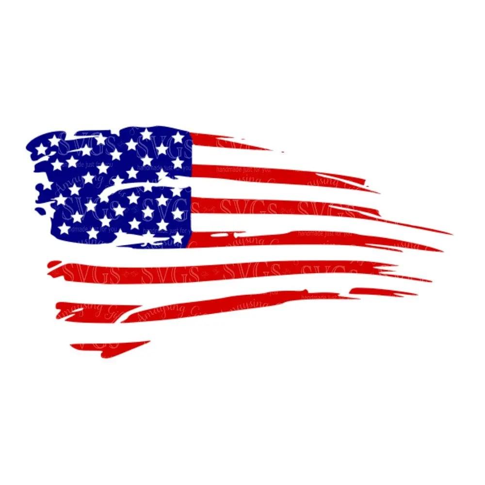 Download Distressed American Flag svg US Flag svg Flag Decor ...