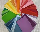 "Paint Chip Swatch Samples - 5""x7"" - Sets of 10 - Choose your Color PA03"