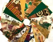 """Vintage Wrapping Paper Bundle - 21 Pieces - 5""""x7"""" - Earthtones - Novelty - Cardmaking, Junk Journals, Scrapbook, Collage, Mixed Media - EB06"""