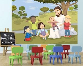 Kids Ministry Decor Etsy
