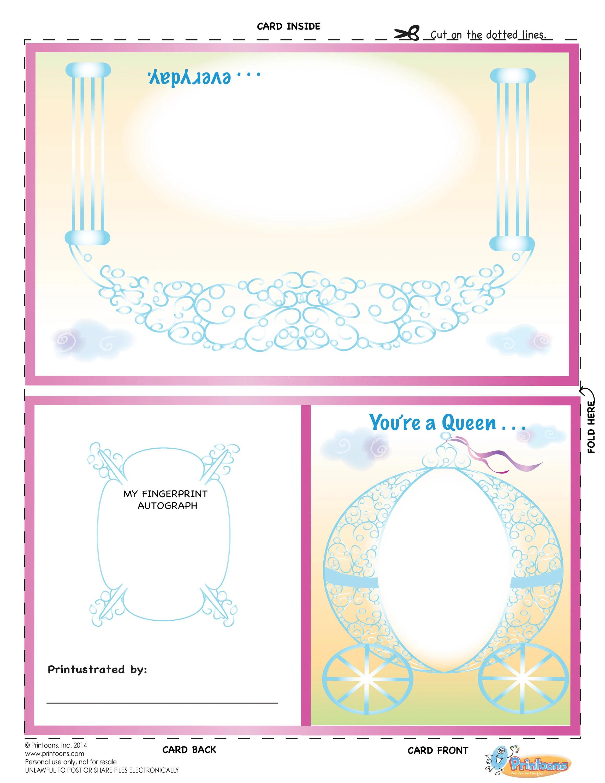 Princess Learning Thumbprint Art Princess Worksheets