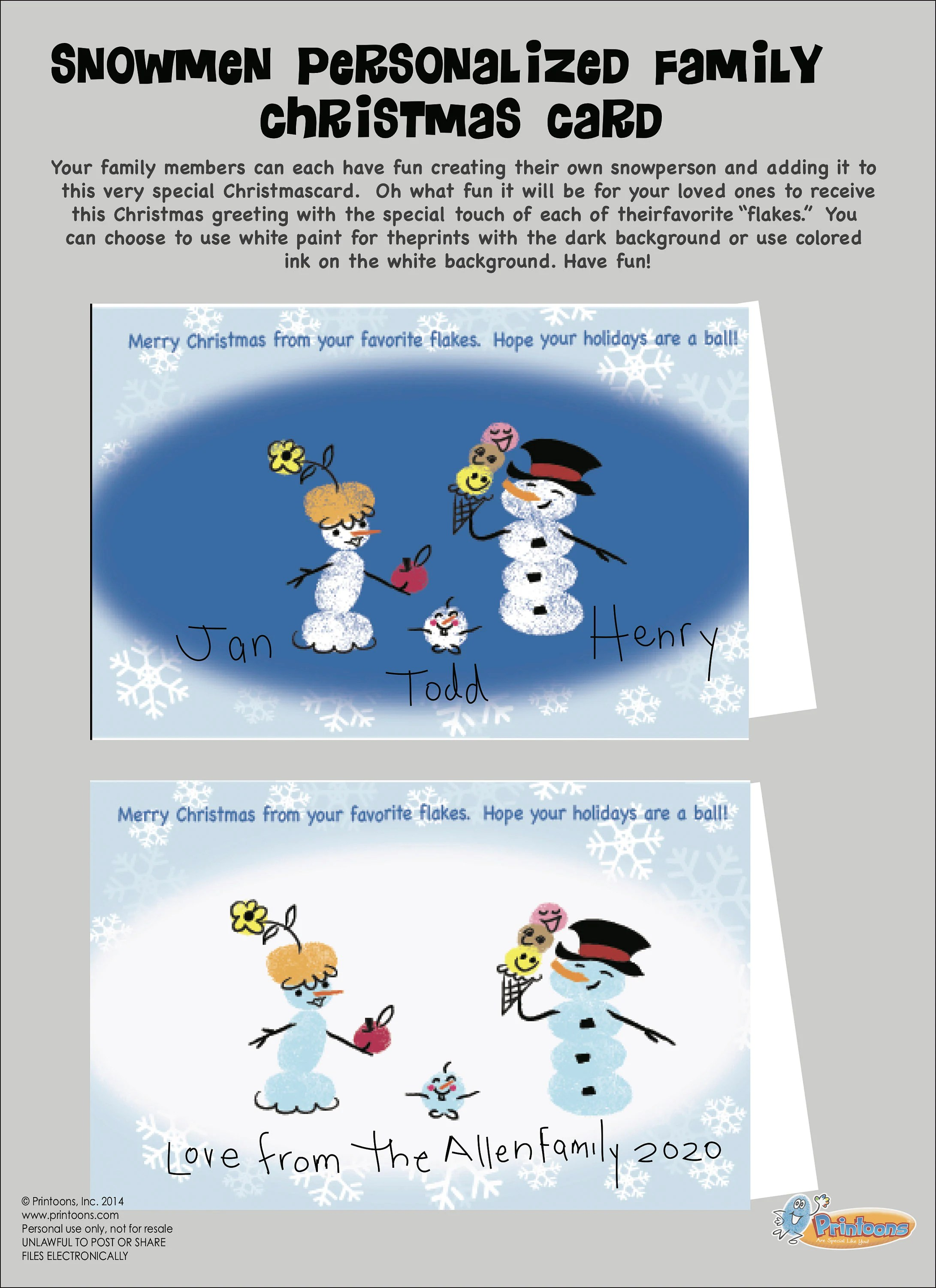 Christmas Snowman Invent Your Own Christmas Worksheets