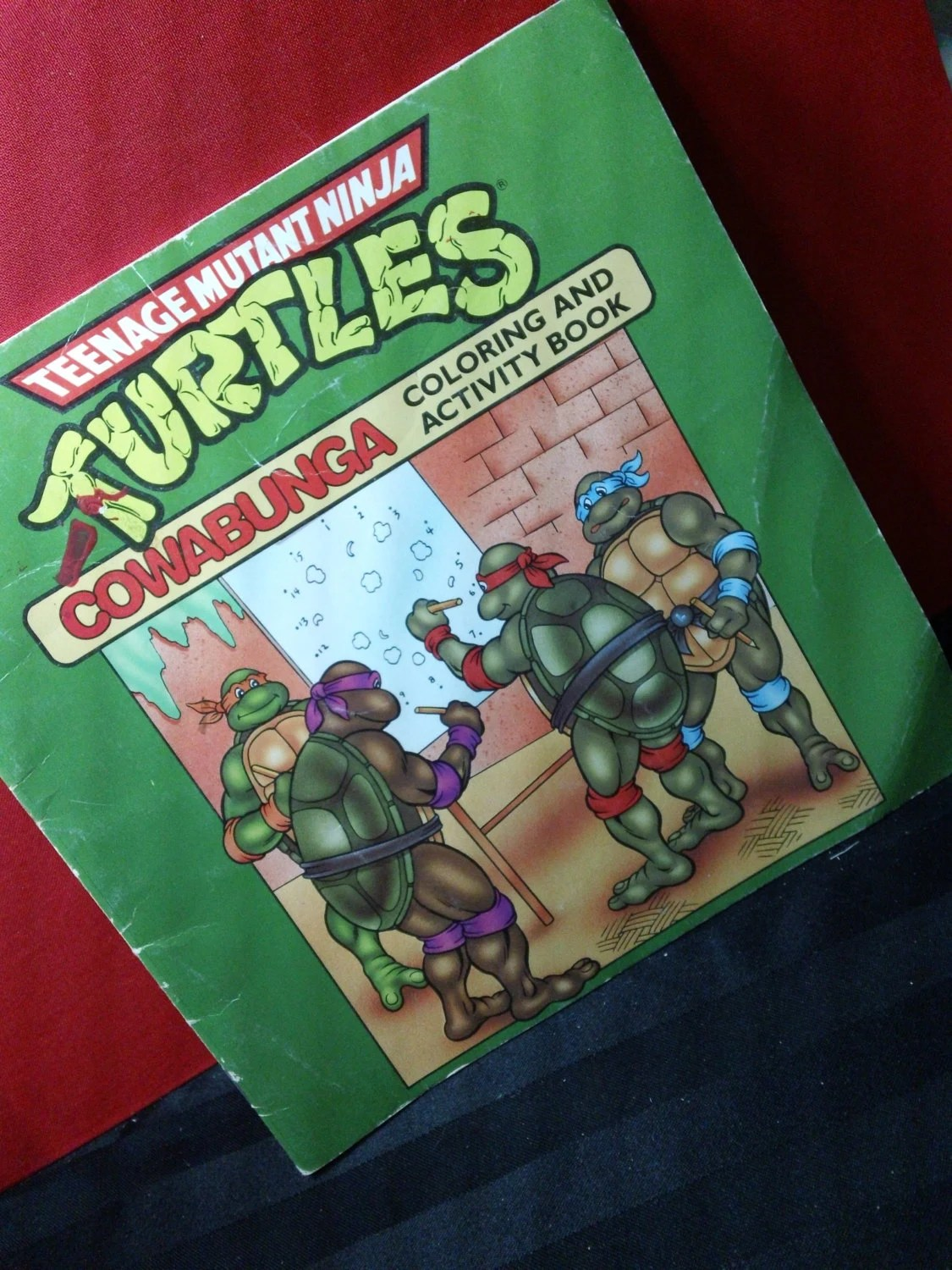 Teenage Mutant Ninja Turtles Cowabunga Coloring And Activity