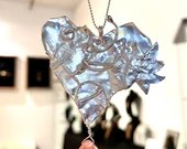Sterling Fused Heart Pendant