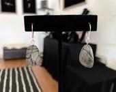 River Stone Earrings