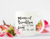 Personalized Mama Mug, Mo...