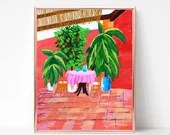 Tropical Patio Painting D...