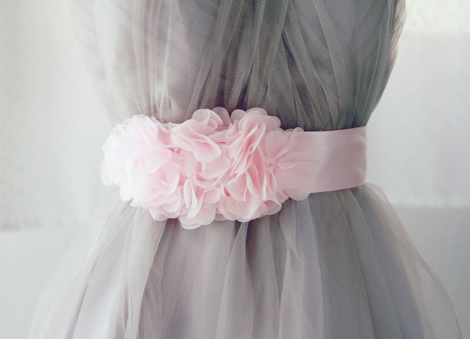 Bridal Sash Belt Pink Wedding Dress Sashes Belts