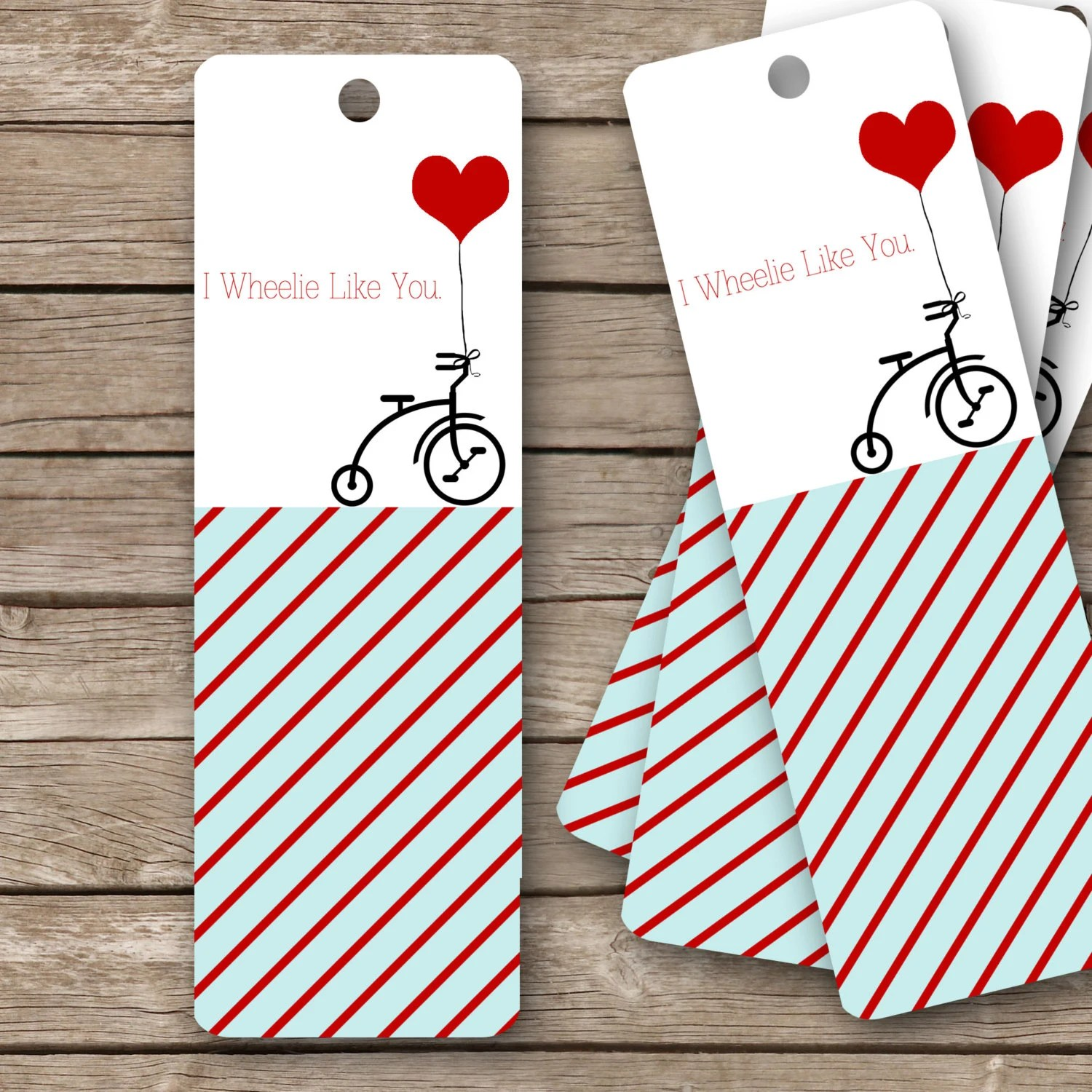Printable Valentine S Bookmarks 2x6 I