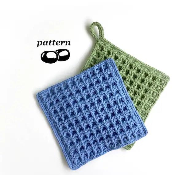 linge a vaisselle au crochet patron crochet modele crochet linge a vaisselle lavette torchon