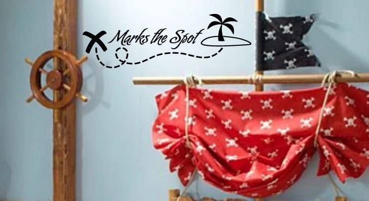 Items Similar To Pirates X Marks The Spot Treasure Map And