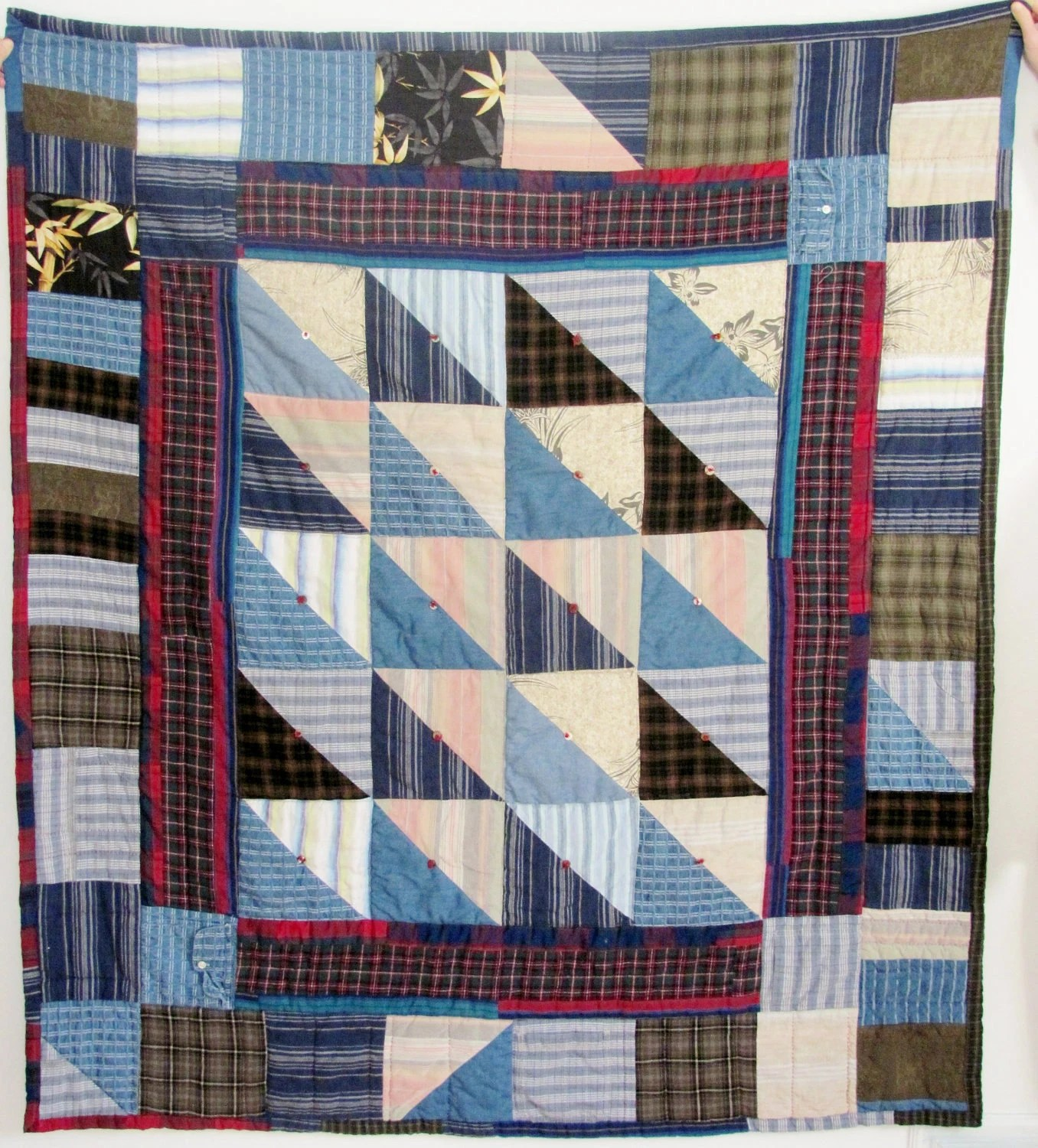 Memory Quilts Old Clothes