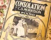 Antique 1907 Sheet Music ...