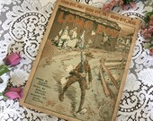 Antique Vintage 1917 Sheet Music LONG BOY Good-bye Ma Pa Mule Cover Art 1910s WWI World War 1 Words William Herschell Music Barclay Walker