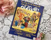 Vintage 1960 As Long As He Needs Me Sheet Music from OLIVER Lionel Bart Musical Movie Scene Colorful Cover Art 1960s