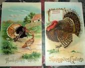 2 Antique Victorian Embos...