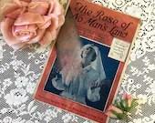 Vintage Antique 1918 The Rose of No Man's Land Sheet Music World War I Nurse in Uniform Cover Art 1910s 'Words Jack Caddigan James Brennan
