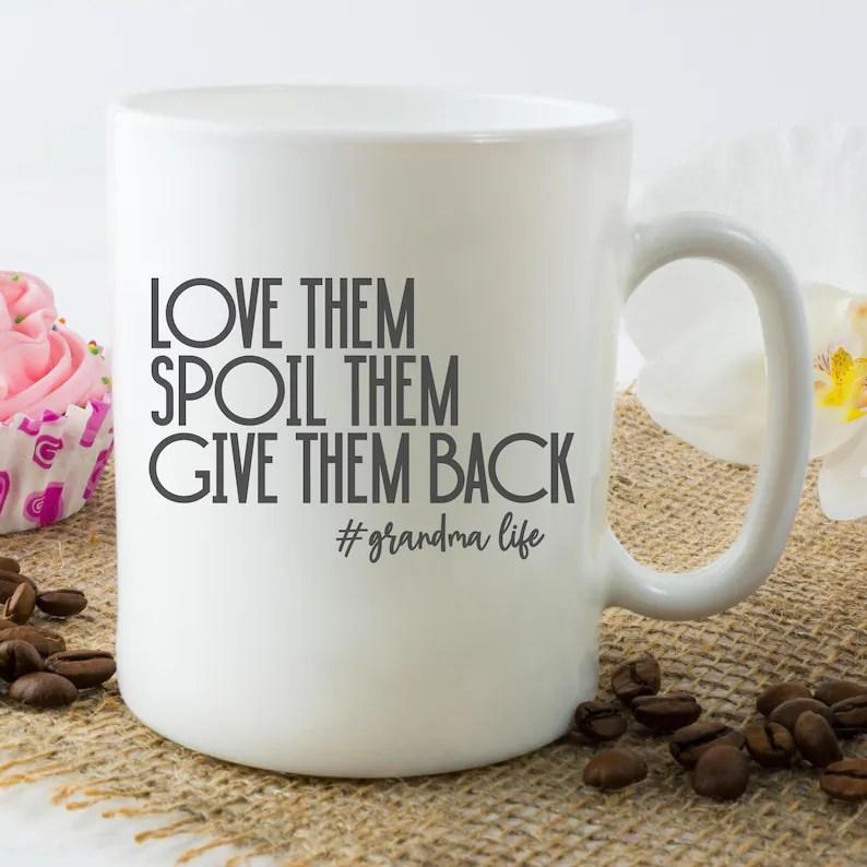 Download Grandma Life SVG Love Them Spoil Them Give Them Back | Etsy