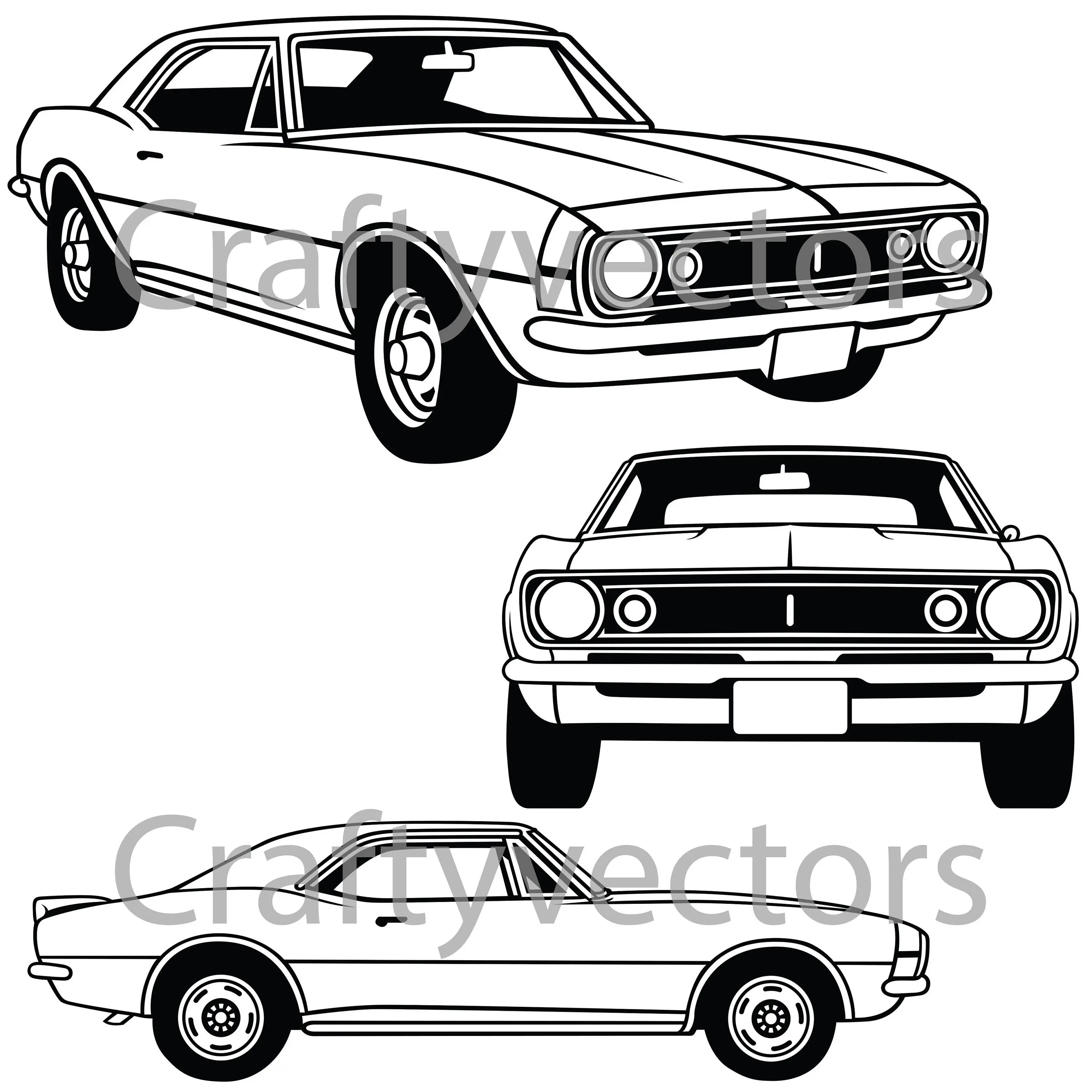 Muscle Cars Driving